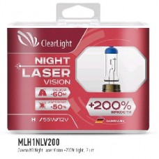 CLEARLIGHT Лампа H1 12V-55W X-TREME VISION +150% LIGHT (MLH1NLV200)