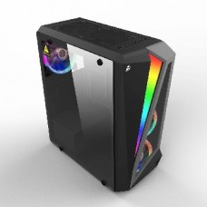 1STPLAYER RAINBOW R5 / ATX, tempered glass side panel / 3x 120mm LED fans inc. / R5-3R1
