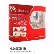 CLEARLIGHT Лампа HB4 12V-51W X-TREME VISION +150% LIGHT (ML9006XTV150)